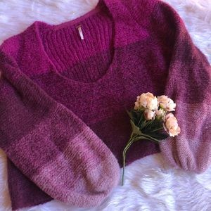 Crop top sweater! by Free People